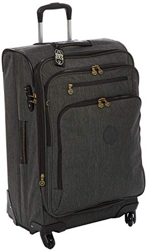 Kipling Youri Spin 68 Luggage 71 L Black Indigo