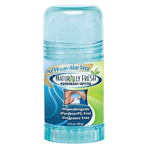 Naturally Fresh Deodorant Crystal - Blue Finally resale start -- Bottle Ounce 6 New color 4.25