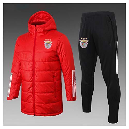 caijj Neue Herren Fußballuniform Geschenk Baumwolle Kleidung Fußball kältesicher Fußballfan kältesicher Anzug Fußball Hoodie männlich-B1-s