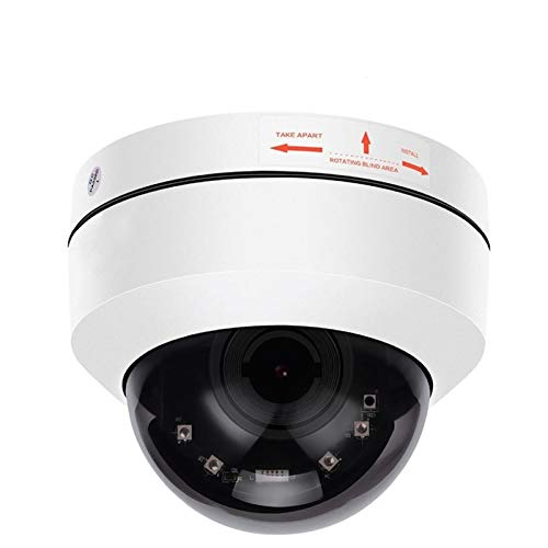PPLAS Vigilancia PoE Lente de 5 megapíxeles Domo PTZ Cámara Mini HD 1080P H.265 CCTV cámara de Seguridad IP 4X Zoom motorizado 2MP Pan Tilt IR 50M P2P ONVIF cámara