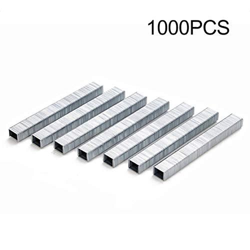 1000Pcs 1008J Grapas en forma de puerta Clavos de 11.3 * 1.