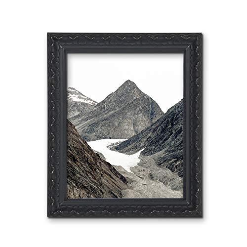 Tailored Frames – Vienna Gold, Vintage Shabby Chic fotolijst, afmetingen 70 x 50 cm voor 61 x 40,6 cm met antiek witte passe-partout