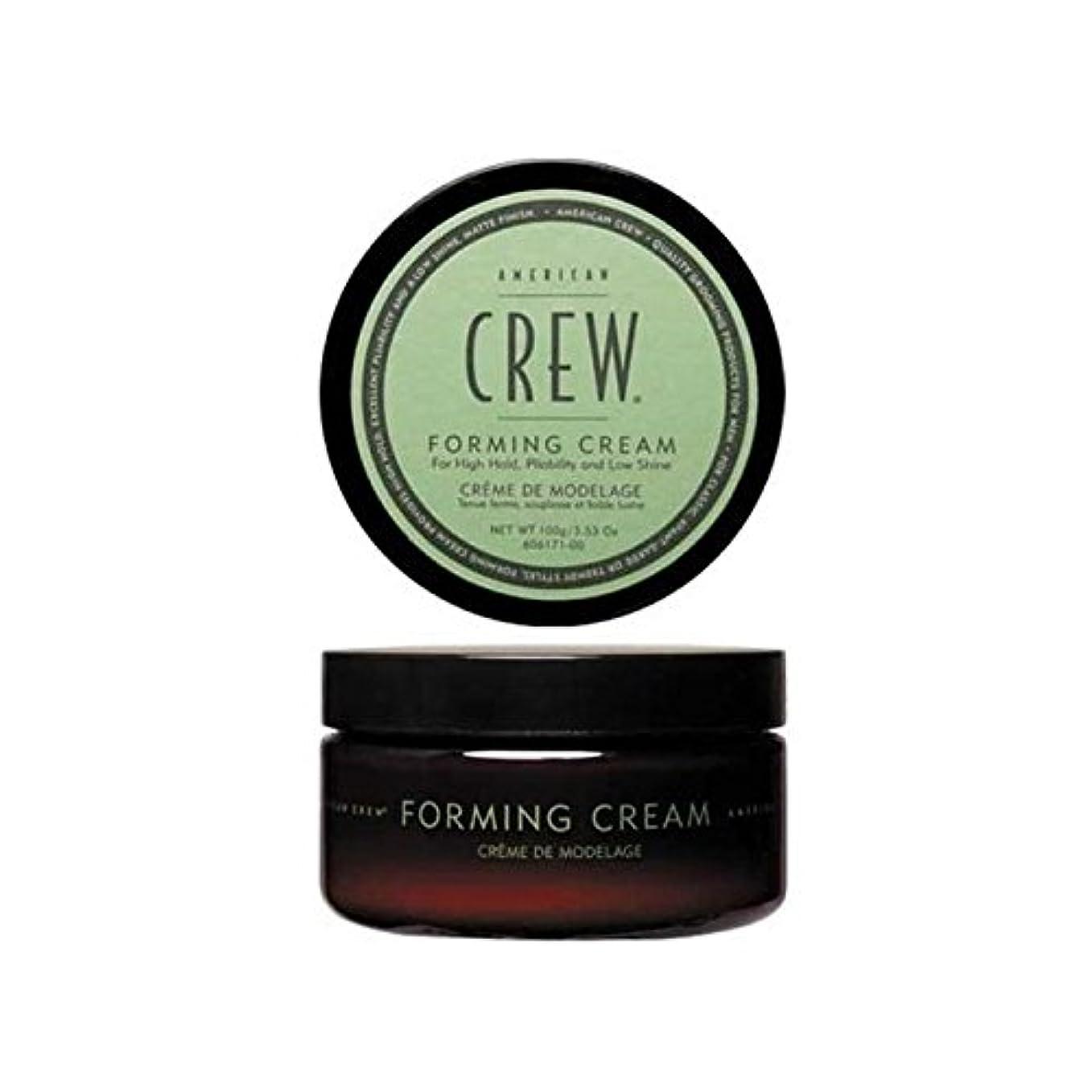 避難する円周クラッチアメリカの乗組員形成クリーム(85グラム) x2 - American Crew Forming Cream (85G) (Pack of 2) [並行輸入品]