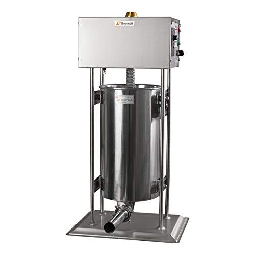 BRUNETTI Embutidora Eléctrica Profesional. Capacidad: 15 Litros. Ref: TV15L