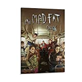 Oldove My Mad Fat Diary Comedy Poster Poster Canvas...