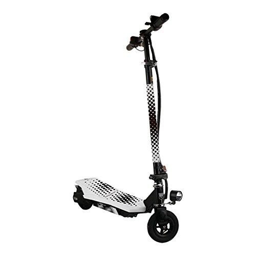 SMARTGYRO Viper Patín Scooter eléctrico, Unisex niños, Blanco, 6'