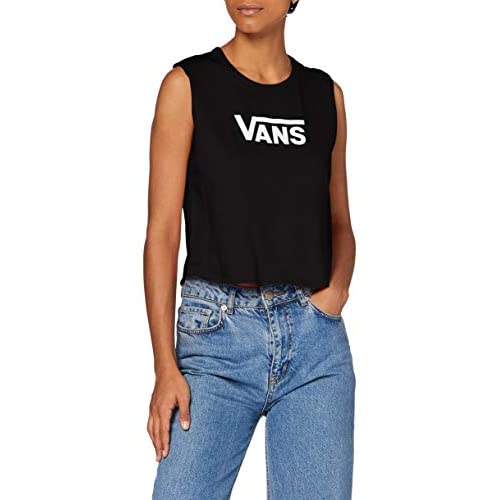 Vans Flying V Classic Muscle T-Shirt, Nero, M Donna