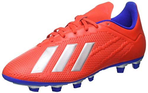 adidas X 18.4 Fg, Scarpe da Calcio Uomo, Multicolore (Rojact/Plamet/Azufue 000), 45 1/3 EU