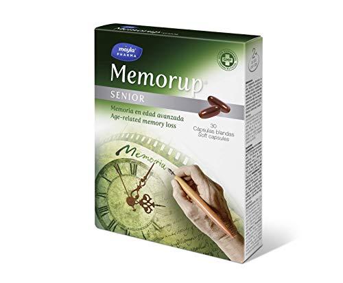 Memorup Senior Suplemento para Memoria, Negro, 30 Cápsulas