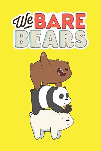We Bare Bears: Journal (Diary, Notebook)