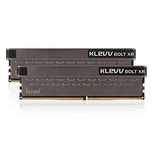エッセンコアクレブ KLEVV デスクトップPC用 ゲーミング メモリ PC4-32000 DDR4 4000MHz 8GB x 2枚 BOLT XR シリーズ SK hynix製 メモリチップ採用 KD48GU880-40B190C