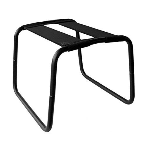 Silla elástica multifuncional para parejas (negro)