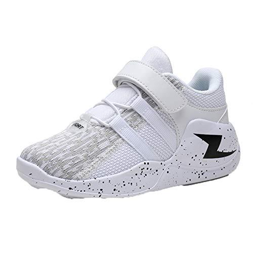 Zapatillas de Deporte para niños Suela Suave Transpirable Ligeras Informales de Malla Zapatillas Deportivas cómodas Antideslizantes para niños