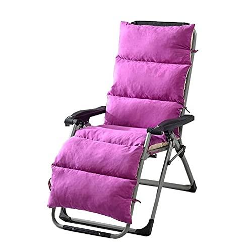 Cojín para asiento Cojín de Espuma Memoria Cojín p Silla del ocio cojín con cremallera y fácil de quitar y lavar el sol silla Cojín antideslizante de diseño de viajes de vacaciones Playa de interior y
