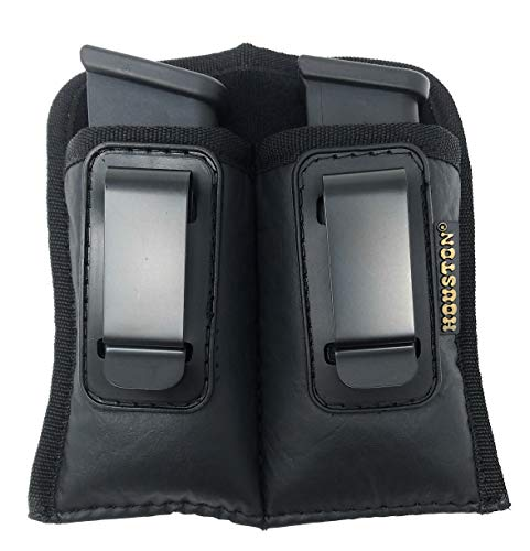 Concealment Magazine and Multi Use Holster IWB Clip Fits Most Double Stack 45 Cal. Like Glock 33/22/31 (Double Extra Large Double Stack .45 Cal)