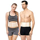Umbilical Hernia Belt for Men and Women - Abdominal Support Binder with Compression Pad - for Incisional, Epigastric, Ventral, Inguinal Hernia - Belly Button Navel Hernia Support (M)