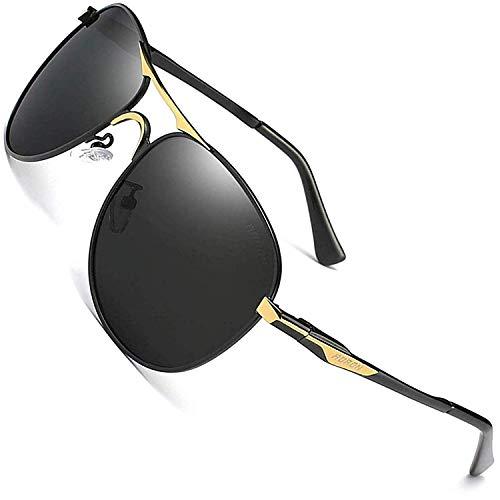 AORON Herren Polarisierte Fahren Polarized Sonnenbrille Classic Sportbrille Pilot UV400 Brille Fahrerbrille 8722