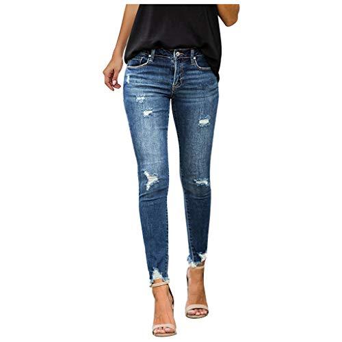 Strumpfhose Umstandsstrumpfhose Shaping Jeans Outdoorhose Damen Hosenanzug Damen Sommer Jeansjacke Damen Weiß Bikinihose Schwarz Damen Unterhosen Damen Schwarz Jeans(B-Blau,M)