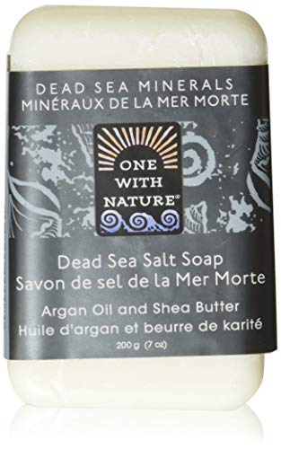 One With Nature Dead Sea Mineral Dead Sea Salt Soap 7 oz by One With Nature