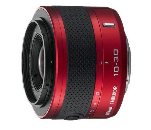 Nikon 1 10-30mm f/3.5-5.6 VR II Nikkor-Zoom Lens (Red)