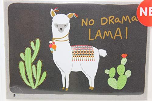 Happy Life Sheepworld, 45700 - Magnet mit Umschlag Nr. 3, No Drama Lama. 5,5cm x 8cm