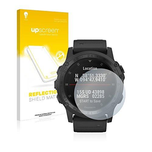 upscreen Entspiegelungs-Schutzfolie kompatibel mit Garmin D2 Charlie/Tactix Charlie – Anti-Reflex Displayschutz-Folie Matt