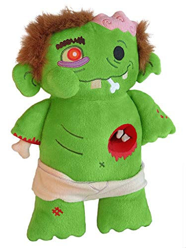 Toy Vault Baby Zombie Plush, My First Zombie Stuffed Doll for Zombie Apocalypse Fans Young and Old
