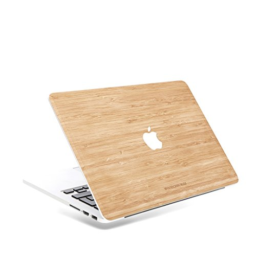 Woodcessories Skin kompatibel mit MacBook 13 Air Pro bis 2016 aus Holz EcoSkin Bambus