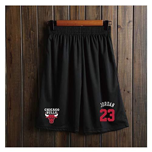 Hombres Pantalones Respirabile Cortos de Baloncesto con Bolsillo, Transpirable Pantalones de Entrenamiento,Secado Rápido Pantalón Corto