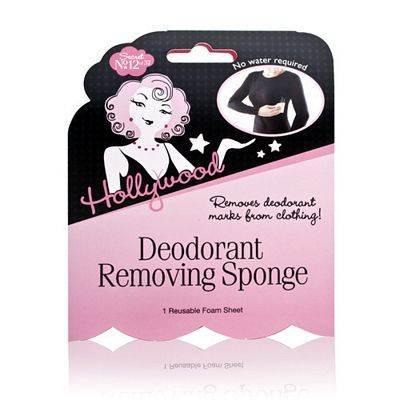 Hollywood Fashion Secrets Éponge pour effacer les traces de déodorant