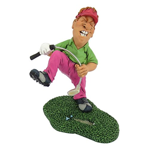 Funny Sports - Aaarrrg... Golfer verbiegt aus Wut d.Schläger