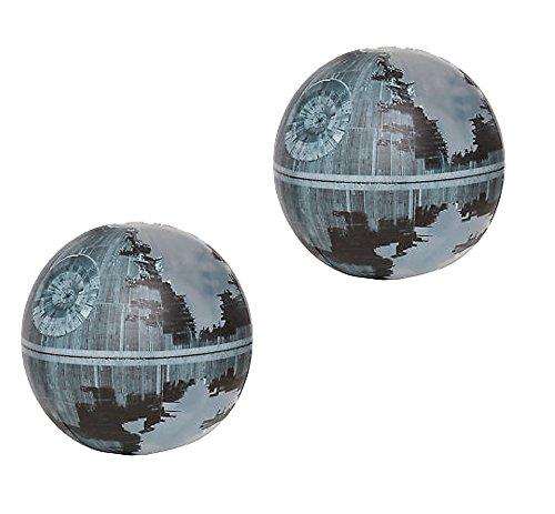 Happy People 16342 Wasserball Star Wars Ja (ca. 33 cm) Todesstern II (2er Set, Wasserball)