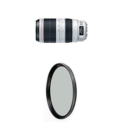 Canon EF 100-400mm f/4.5-5.6L IS II USM Lens w/ B+W 77mm XS-Pro HTC Kaesemann Circular Polarizer by