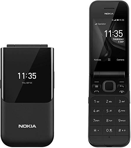 Nokia 2720 Flip, 4GB, Snapdragon 205, Dual Sim (Black)