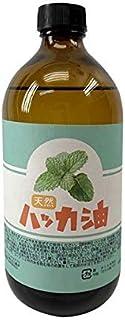 日本製 天然ハッカ油(ハッカオイル) お徳用500ml 中栓付き