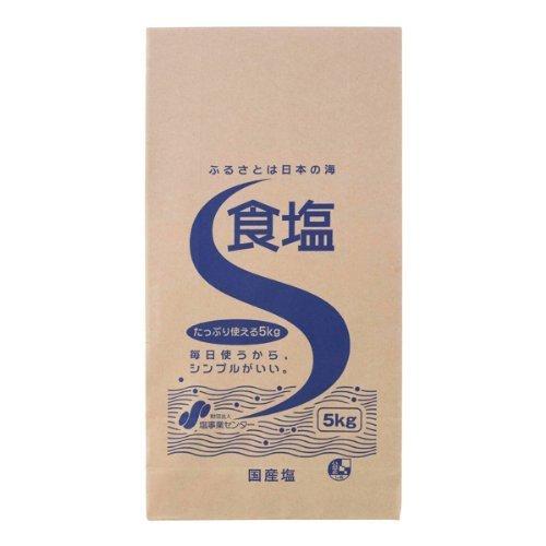 (財)塩事業センター 食塩 5kg