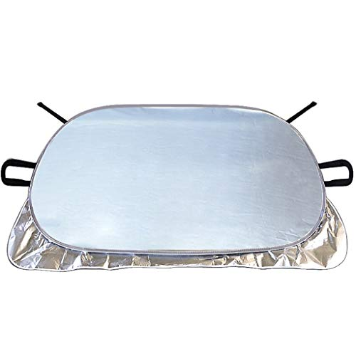 ZY-ramps KangJZ Voorruit Zonnevizier, Extern gebruik Shading Heat Isolatie Gordijn Leaf Preventie Anti-vogel Zilver Rok Aluminium folie praktisch
