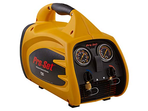 CPS Pro-Set TRS600 Sparkless Oil-Less Twin Cylinder Refrigerant Recovery Machine, 115V / 60Hz