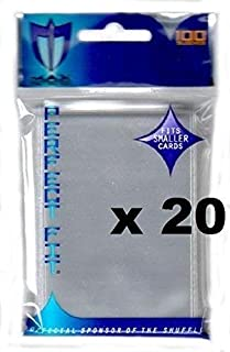 MAX PRO 2000 Small Inner Sleeves for Double SLEEVING (fits Yu-Gi-Oh , Card Fight Vanguard and Other Small Sized Cards)