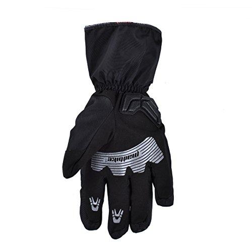 Madbike Motorrad-Handschuhe, wasserdicht mit Karbonfaserschutz - 4