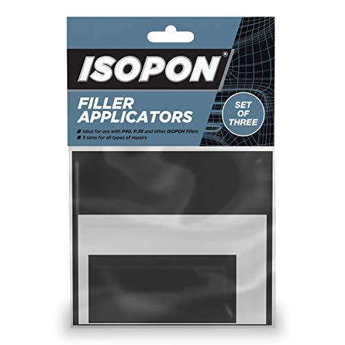 UPol APL/3 Isopon-Set de 3 applicateurs pour Remplissage du Corps