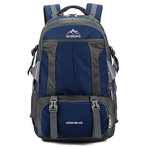 Travel Laptop Rugzak 60L bergbeklimmen reistas Grote Lichtgewicht Waterbestendige School Reizen Wandelen Casual Rugzak voor Vrouwen Mannen