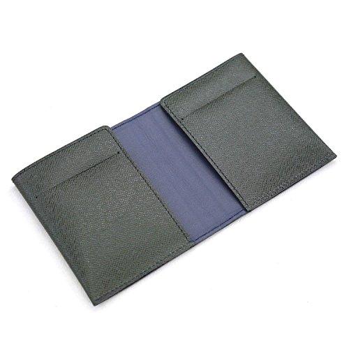 革職人 flatII (フラットツー) マネークリップ メンズ 本革 薄型 薄い 札ばさみ VR011 MG (モスグリーン)