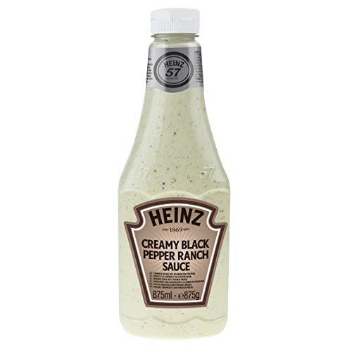 Heinz Salsa Creamy Pepper Ranch, 6 x 875 ml