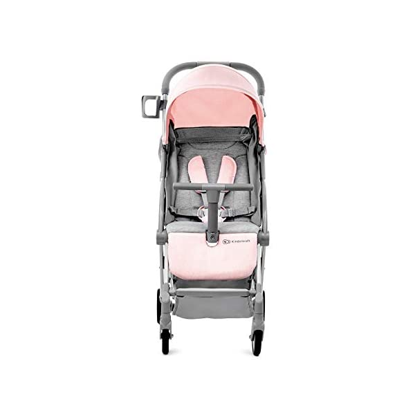 Kinderkraft Pilot Light Buggy Pushchair Pushchair Pushchair Folding kk KinderKraft An innovative folding system, with a shoulder strap for easy transport The set contains: Modern barrier, shopping basket under the seat, foot protection, rain cover and cup holder. High quality stored, rubber wheels - all muffled. 4