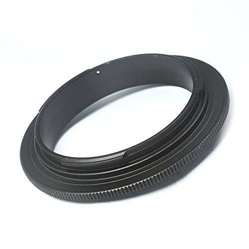 Anillo adaptador macro inverso Pixco de 49 mm para montaje CANON (49 mm-Canon EOS)