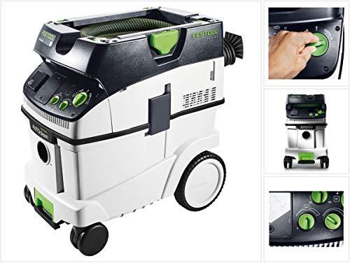 Preisvergleich Produktbild Festool Absaugmobil CTL 36 E AC HD CLEANTEC Herstellernr. 575292,  Schwarz / Grün