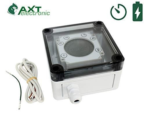 AXT-Electronic BS-D - Digitale Batterie-Zeitschaltuhr (Zubehör VSBb)