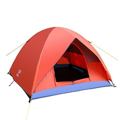 Bazaar Das Außencamping 3-4 Menschen verdoppelt Schicht sturmfestes Zelt