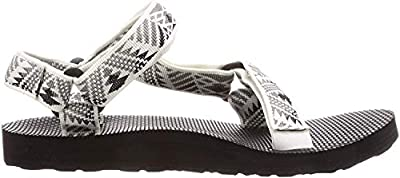 Teva Women's W Original Universal Sandal, Boomerang White/Grey, 6 Medium US